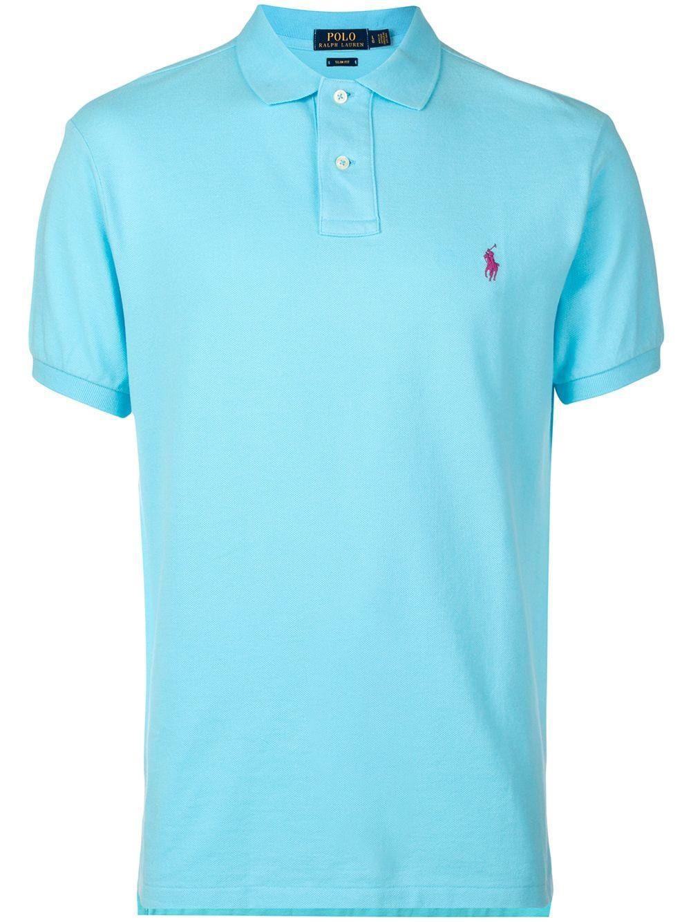 Polo Ralph Lauren Embroidered Logo Polo Shirt Farfetch