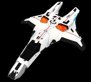 Federation Gryphon-class fighter, I am a big fan of the intergrated nacelles