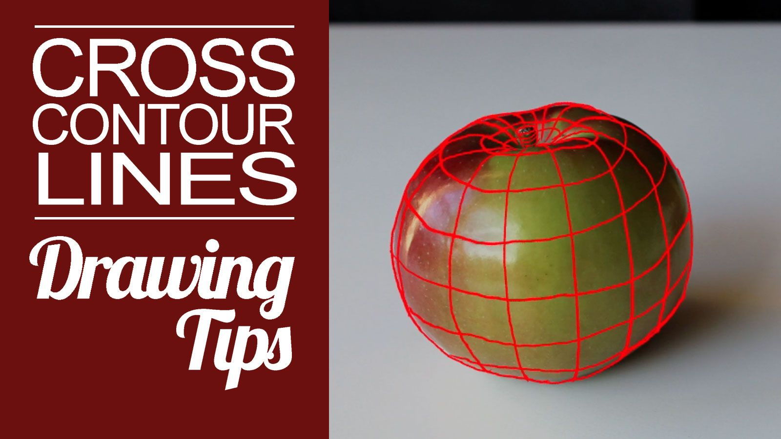 Use Cross Contour Lines To Communicate Form In Your