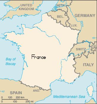 information history facts and activities on northern france which includes paris for school age children