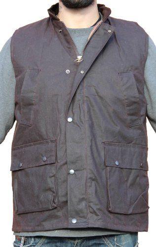 WWK WorkWear King Derby Tweed Bodywarmer Gilet Waistcoat Green