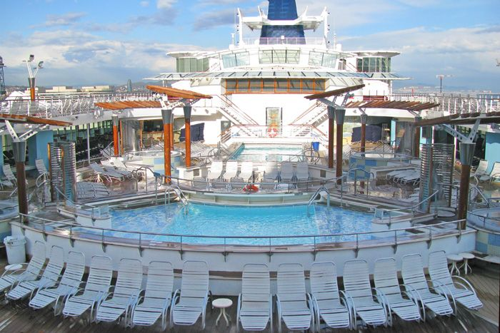 Celebrity Summit Pool Deck Cruise Vacation Celebrity Summit Summer Vacation Destinations