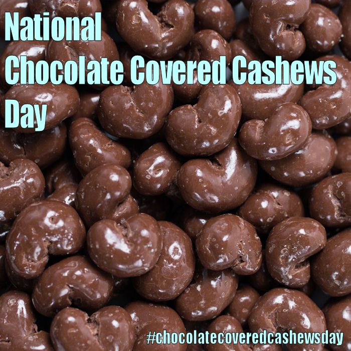 National Chocolate Covered Cashews Day April 21 2017 Chocolate Covered Party Snacks Trail Mix
