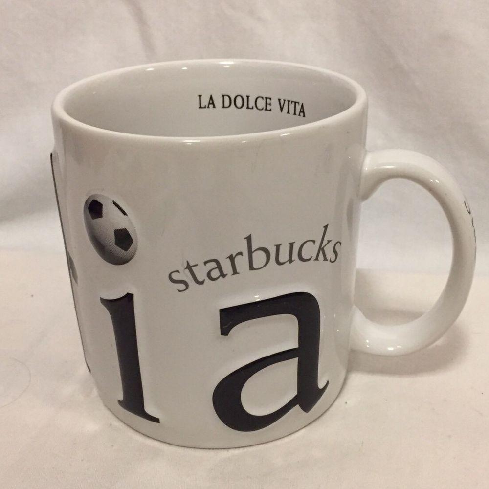 Dolce Details Mug Starbucks Vita Coffee Roma La Italian About LRjq354A
