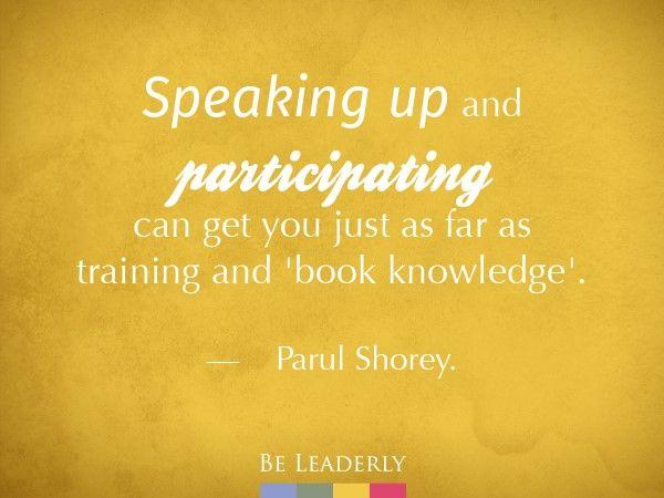 Emerging Leader Spotlight Parul Shorey Leadership Quotes