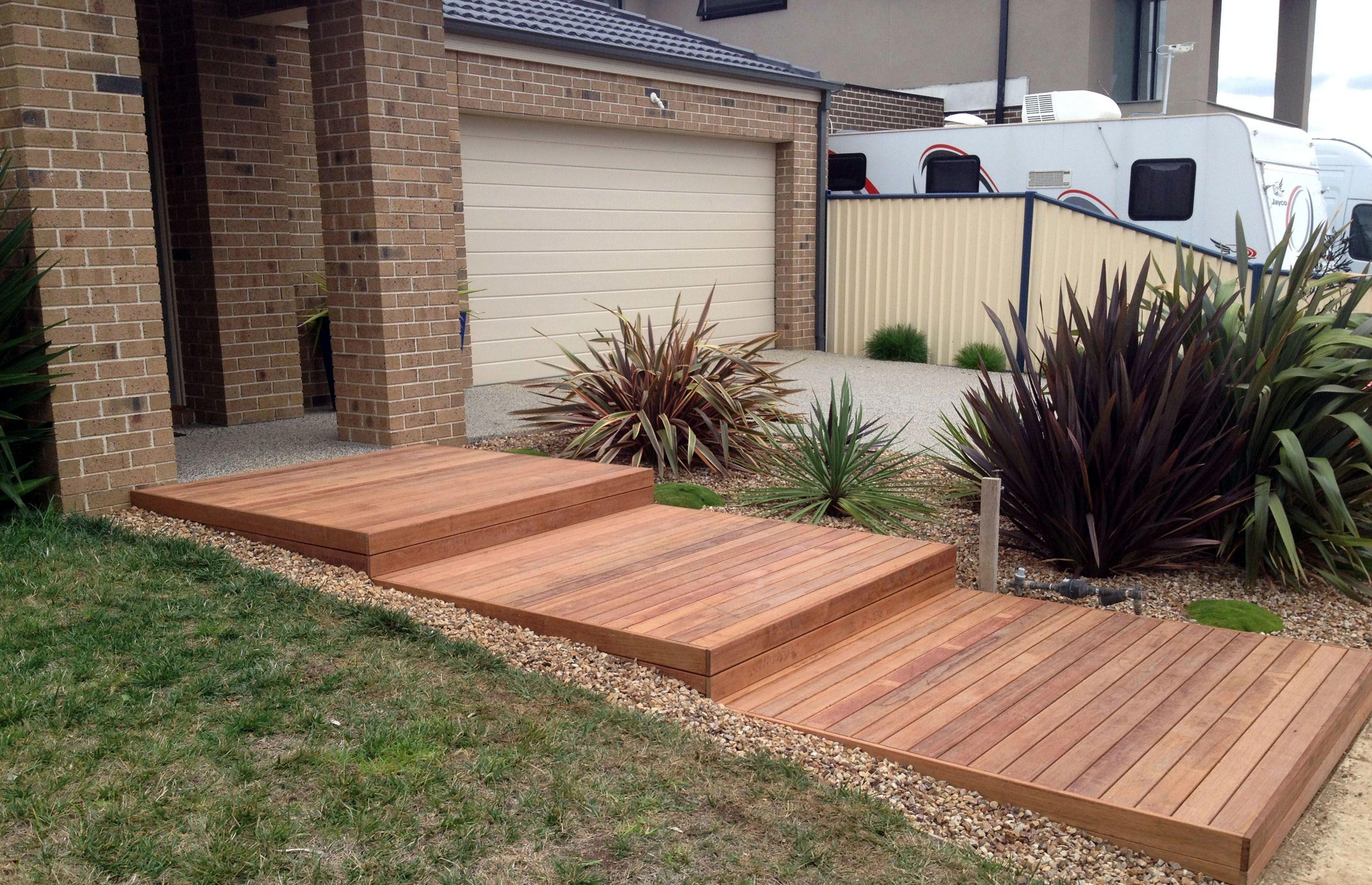 Deck Walkway Ideas