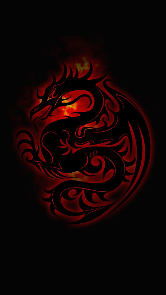 Dark Dragon Dragon Wallpaper Iphone Dragon Artwork Red Wallpaper