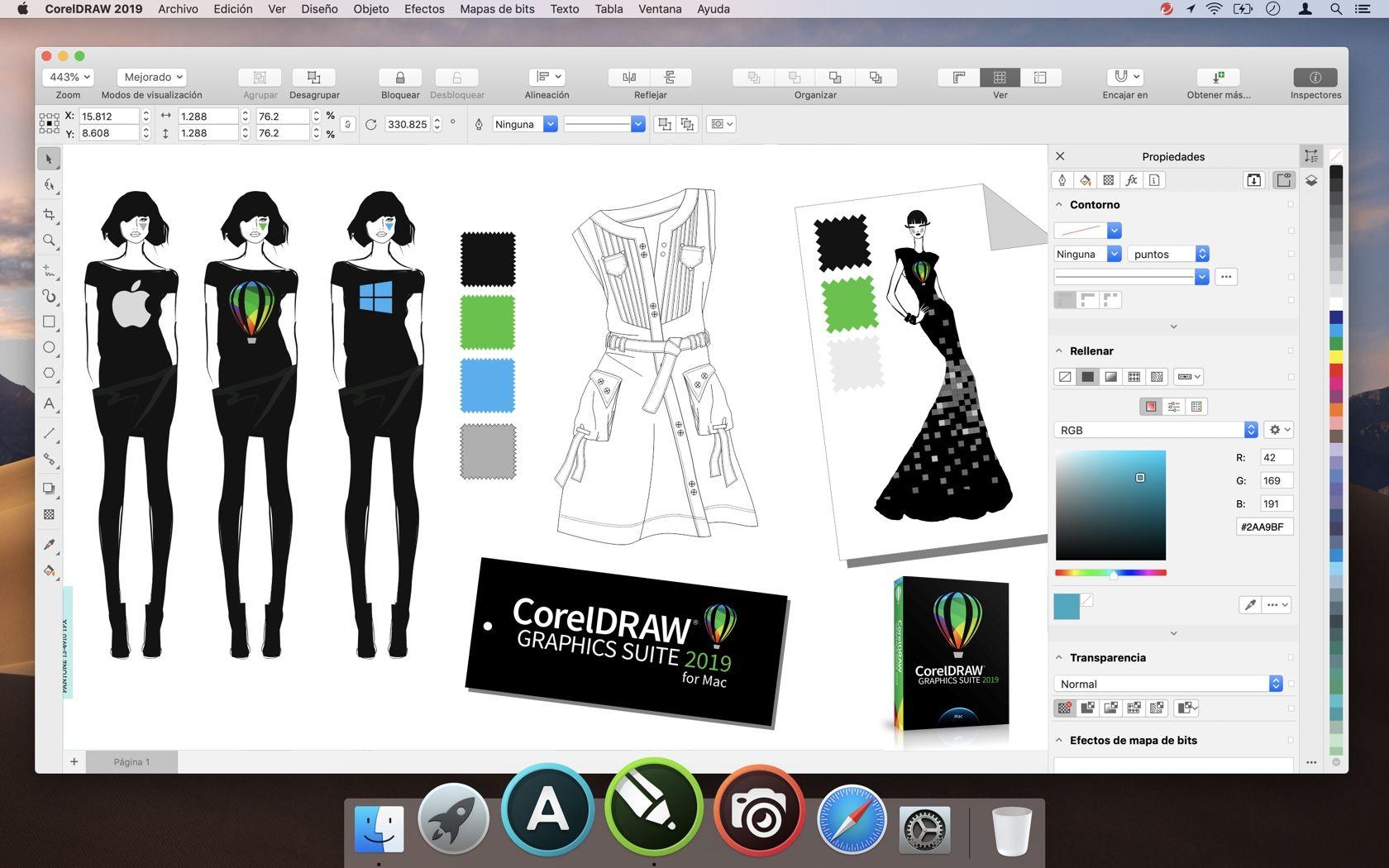 Diseno De Moda Con Coreldraw Para Mac Diseno De Modas Programas De Diseno Software De Diseno