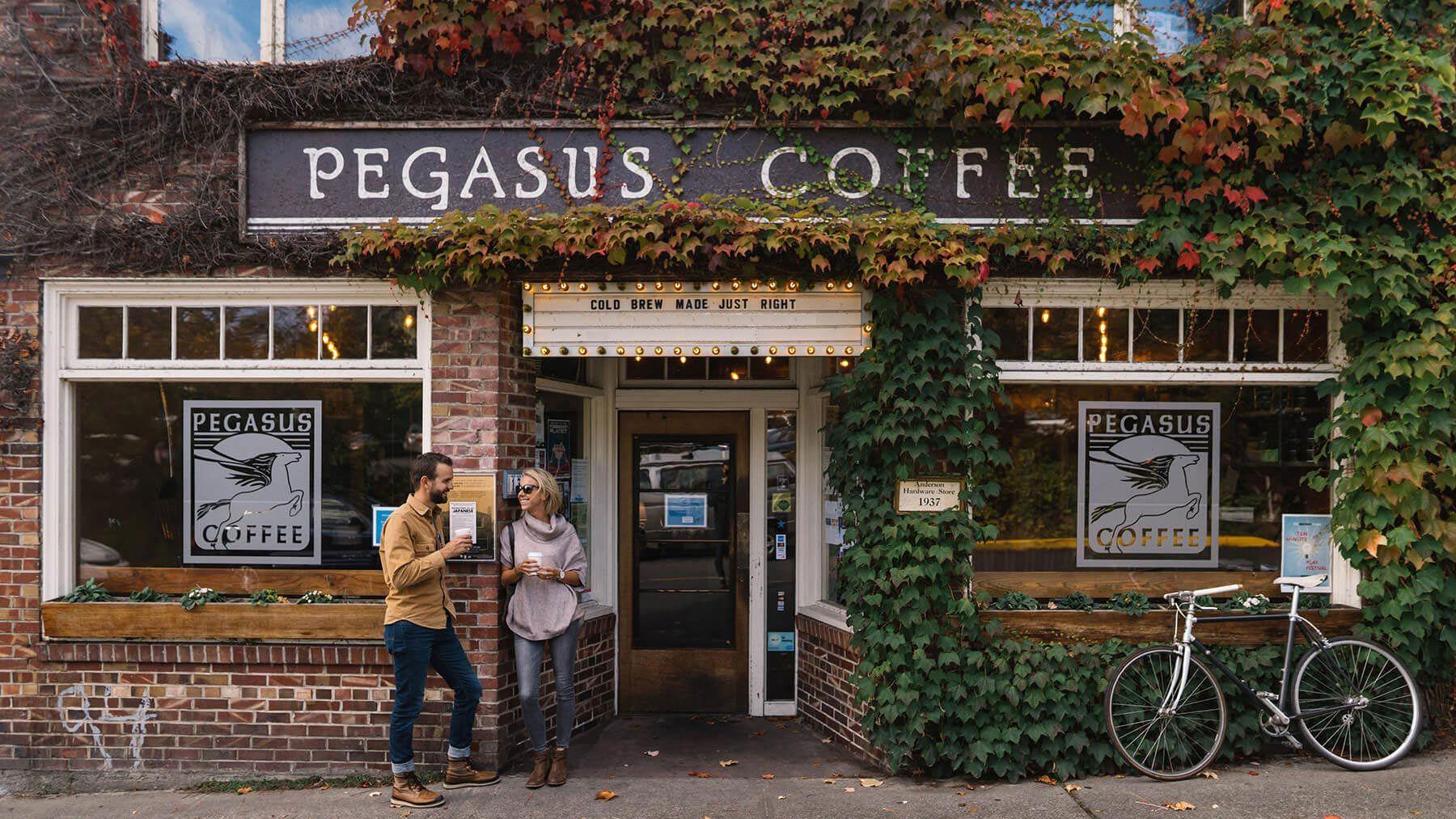 Pegasus Coffee House Bainbridge Island Wa Bainbridge Island Bainbridge Coffee House
