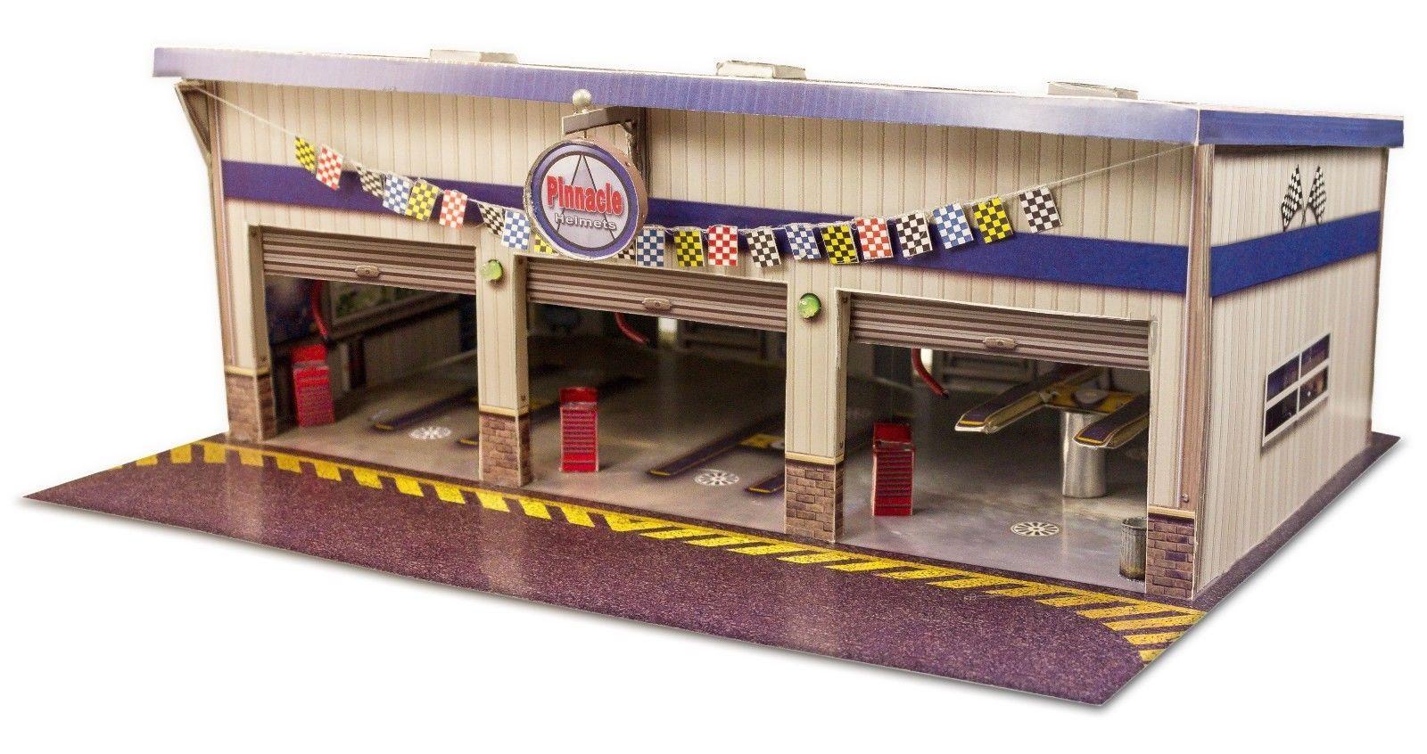 1 64 Scale Slot Car Buildings