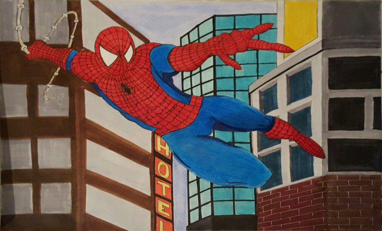Zu Weihnachten neue Stifte bekommen #Spiderman #Comic #Stylefiler ...