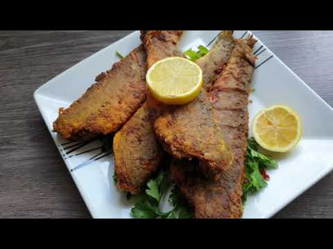 Spicy Masala Fried Fish Moroccan Style Spicy Fish Youtube Fried Fish Masala Spicy