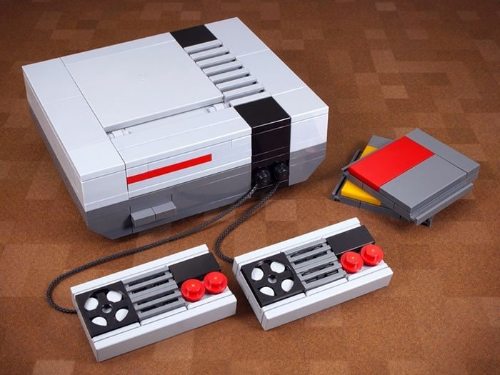 Retro Tech Made From Lego In Pictures Cool Lego Creations Legos Lego Art