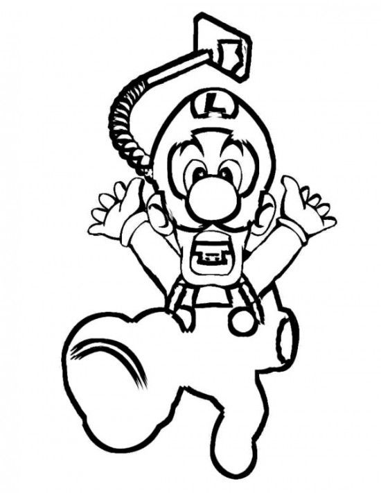 Paper Mario Coloring Pages Mario Coloring Pages Cartoon