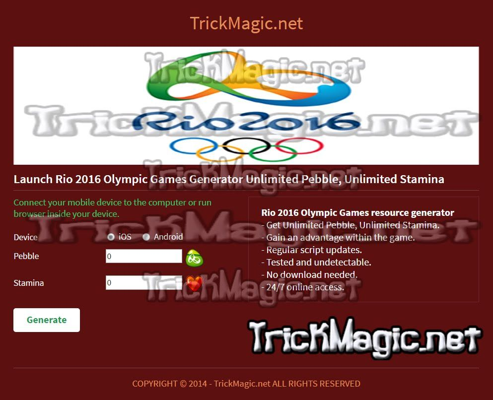 Pin On Rio 2016 Olympic Games Hack Android