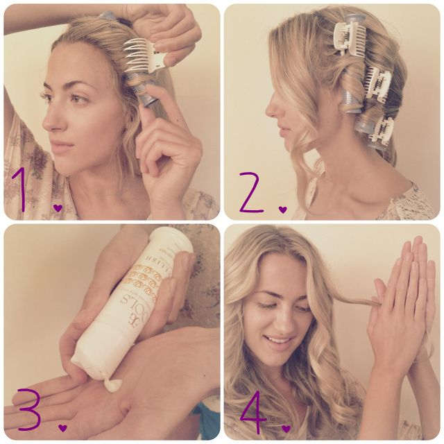 Waves Made Easy With Long Hot Rollers Celebrity Hairstyles Hair Styles Cool Hairstyles
