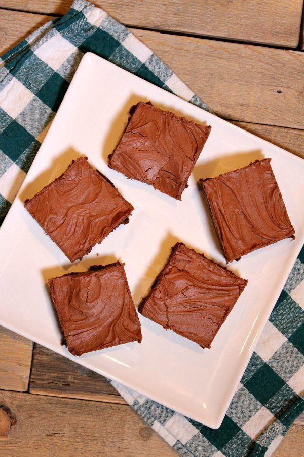 Photo of Irish Whiskey Brownies – Recipe Girl