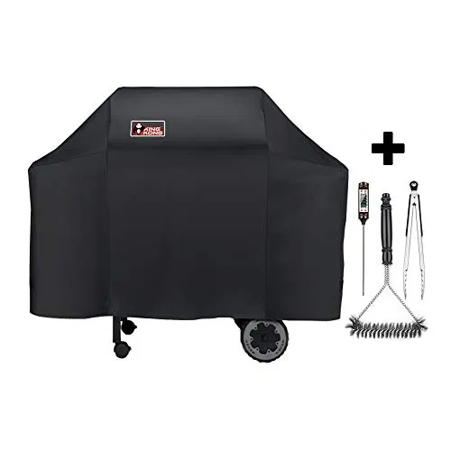 Kingkong Grill Cover For Weber Spirit 200 300 Series And Genesis Silver Gas Best Offer Backyardequip Com In 2020 Grill Cover Stainless Steel Grill Grill Brush