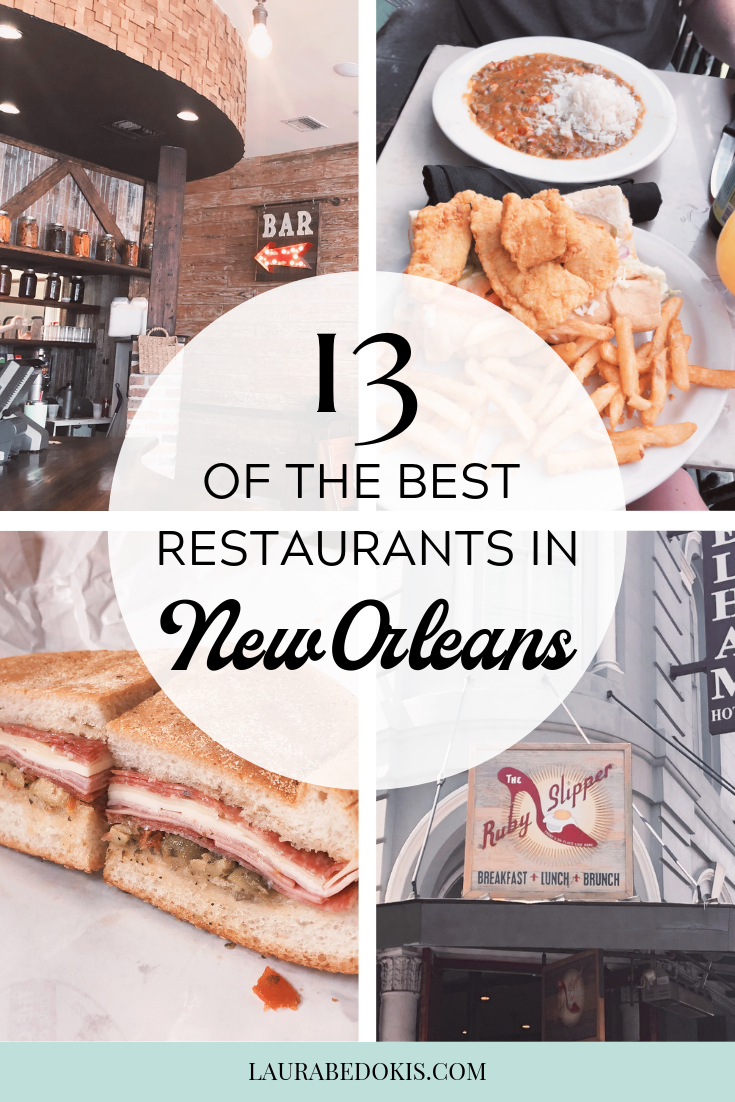 Check out this list of 13 of the best restaurants in New Orleans. Our top New Orleans dining picks including Cafe Du Monde, Ruby Slipper Cafe, and more!