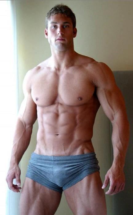 Sexy male bodybuilders