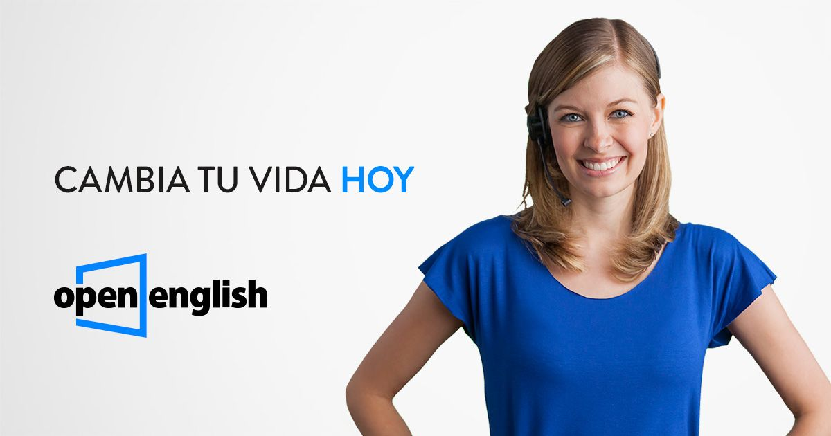 Open English es la escuela de inglés online número 1 en América Latina desde 2007. Inscríbete hoy para recibir acceso 24x7 a profesores norteamericanos y a cientos de horas de contenido interactivo.