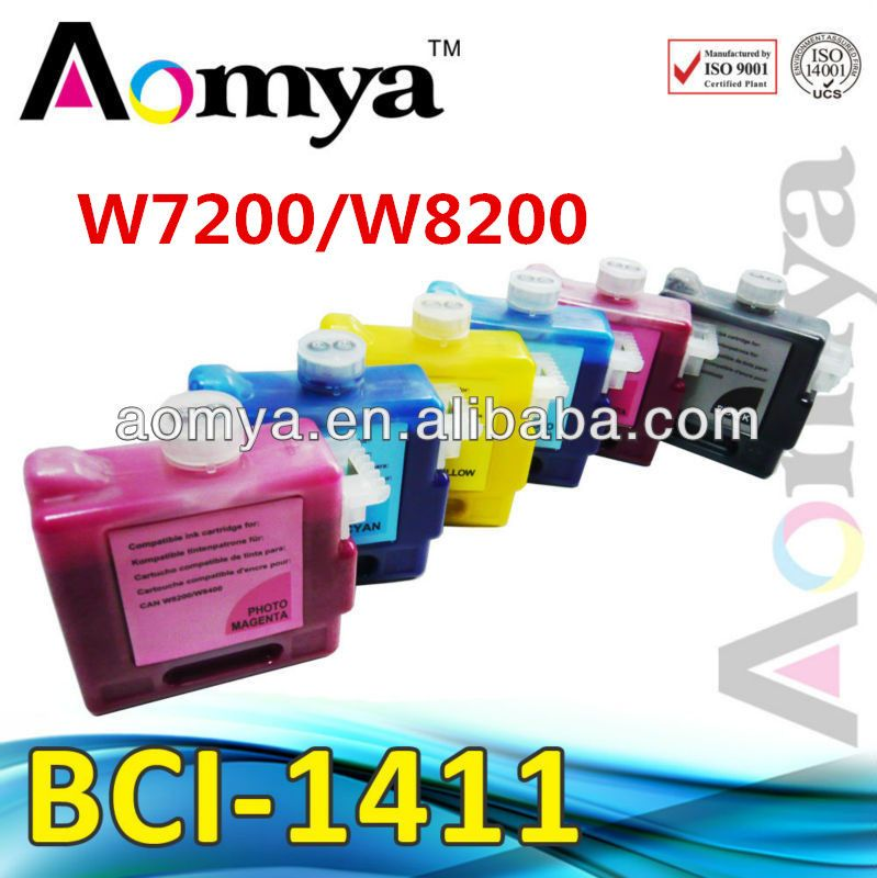 $59.99 (Buy here: http://appdeal.ru/4fkh ) (330ml*6pcs) Compatible wide Format Ink Cartridge BCI-1411 For Canon Inkjet Printer W7200/W8200 (Dye Ink) for just $59.99