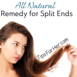 Remedy for Split Ends | Diy hair treatment Hair remedies ...