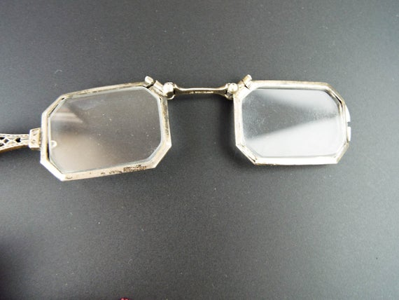 Antique Sterling Silver Folding 19th C Ladies
