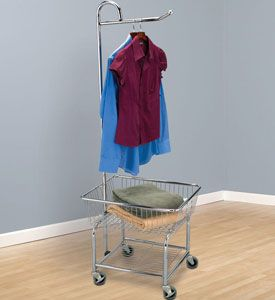 Shelby Charter Township Laundry Cart Rolling Laundry Basket