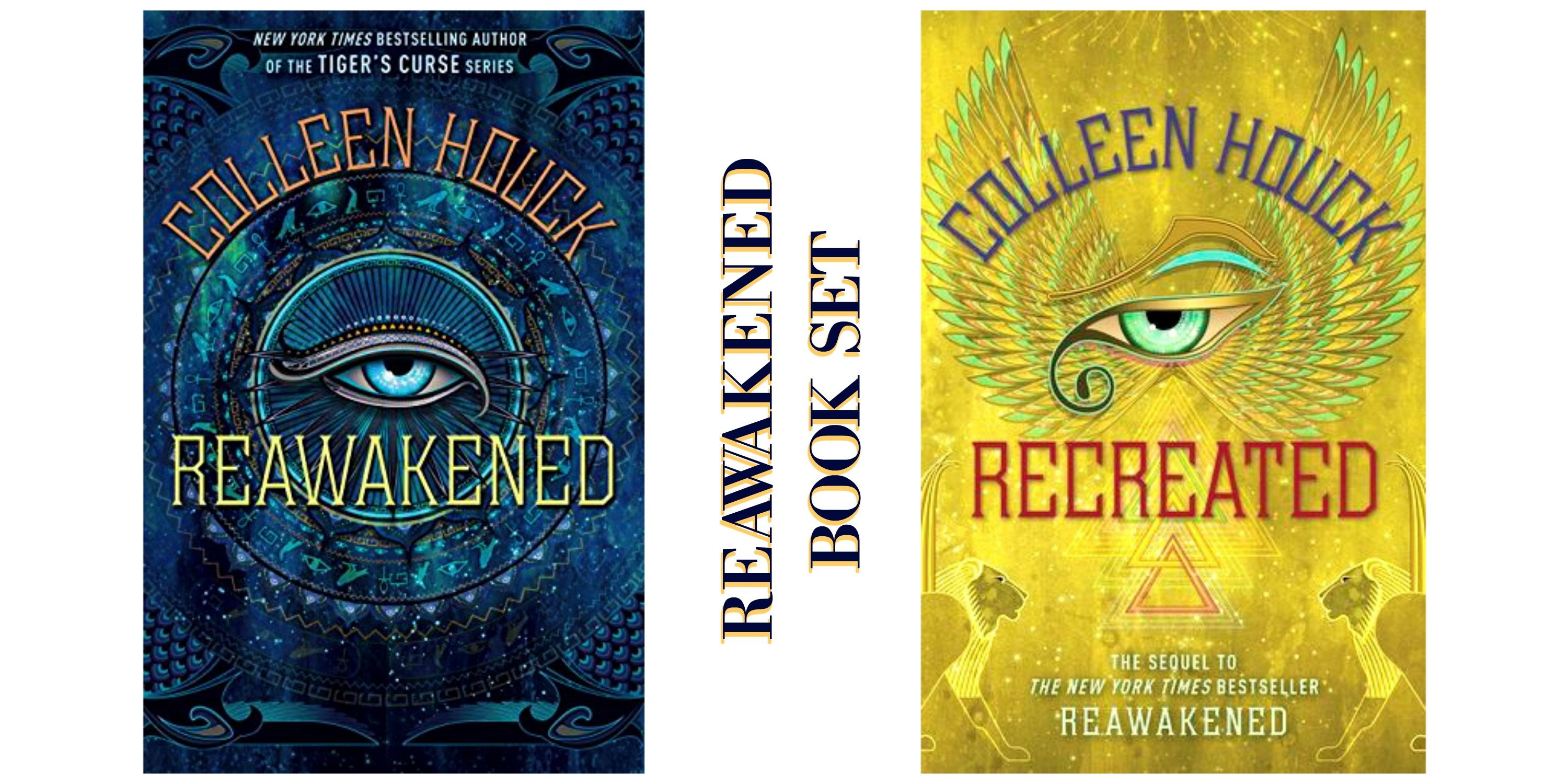 There will be PRIZE GIVEAWAYS during the blog tour (5 Book Sets of the  Reawakened