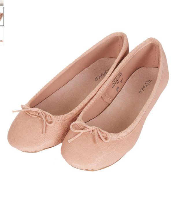 b9fae397c2a Topshop nude ballerinas. Topshop nude ballerinas Pink Ballet Flats ...