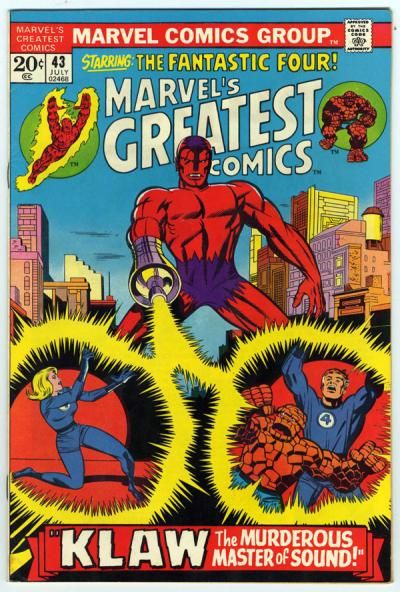 Marvel's Greatest Comics #43