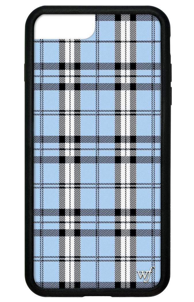 online store 8f3fc 31636 Blue Plaid iPhone 6+/7+/8+ Plus Case in 2019 | Electronics | Cheap ...