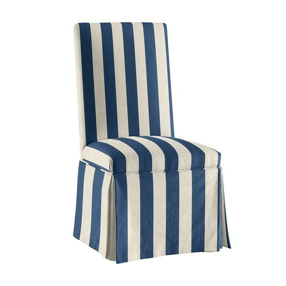 Parsons Chair Slipcover In Made To Order Fabrics