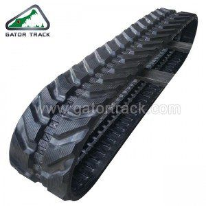 Rubber Tracks 400X72 5X74 Excavator Tracks | rubber track | Track