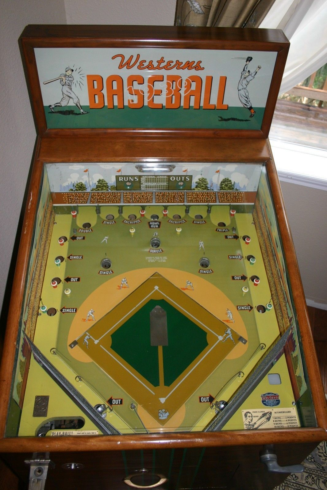 1939 Westerns Baseball Coin Operated Game • 4,500.00