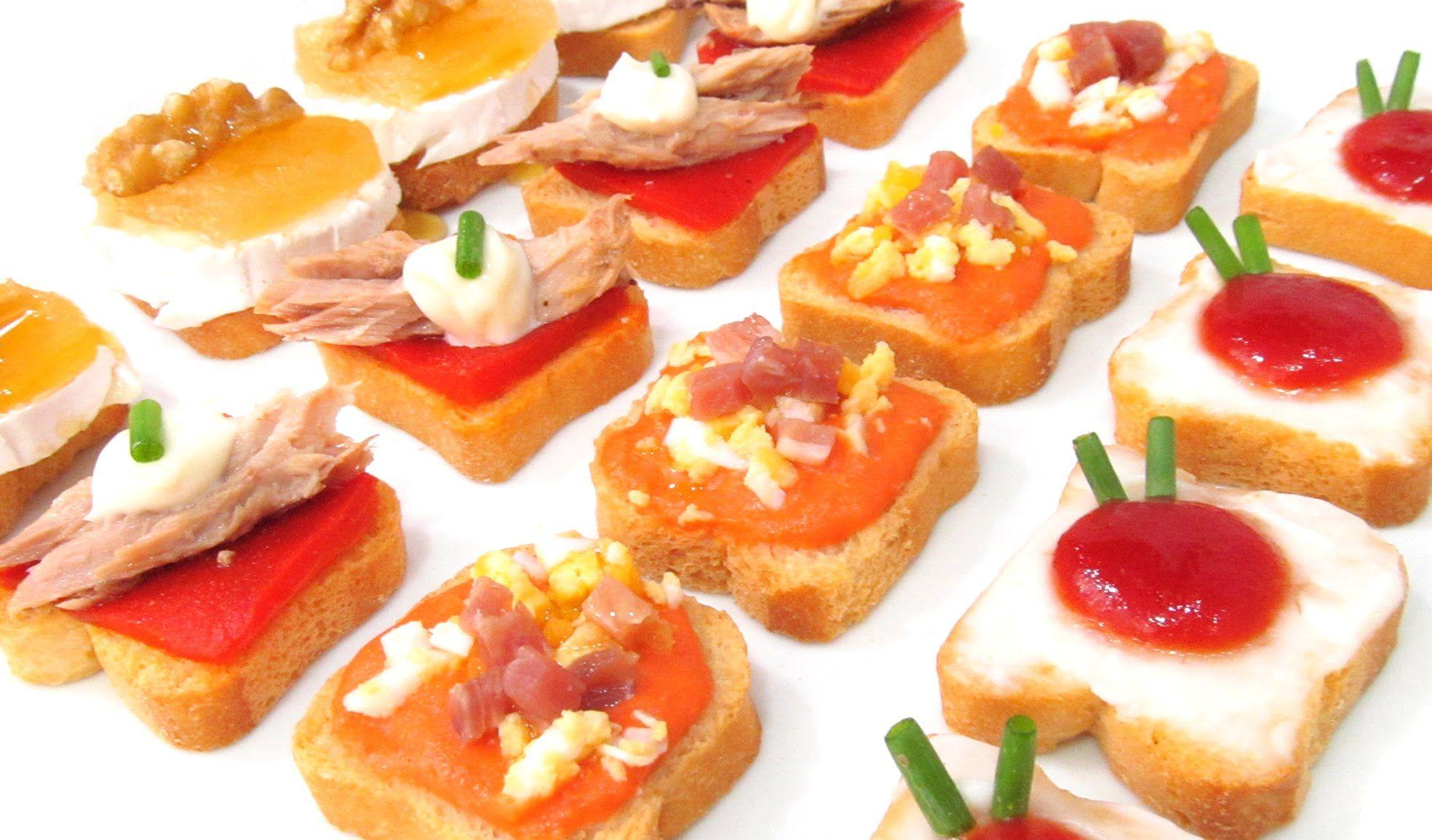 Canap s variados fr os originales f ciles y baratos for Canapes y aperitivos
