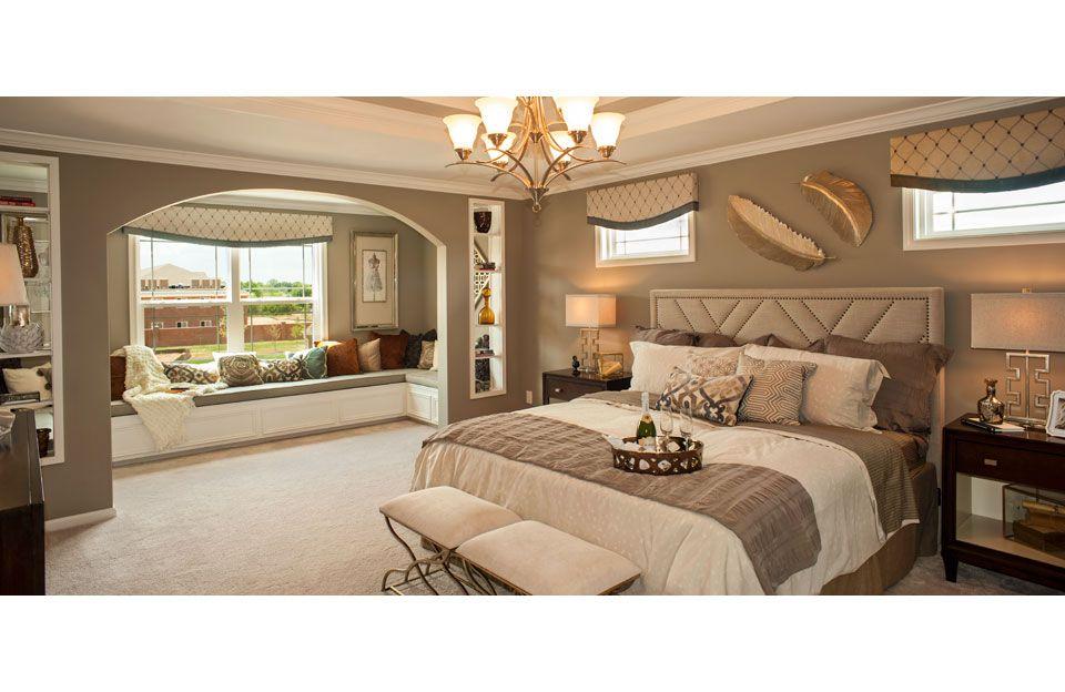 Elegant Owneru0027s Suite, Rowan Model/Floor Plan, Indianapolis  Drees Homes