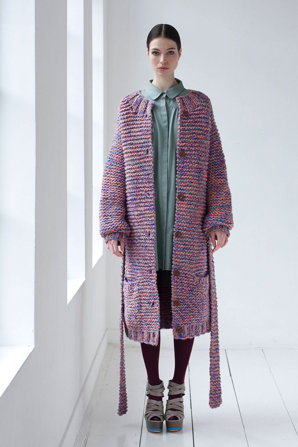 Studio JUX Fall Winter 2013 2014 | Knitts | Knitted coat