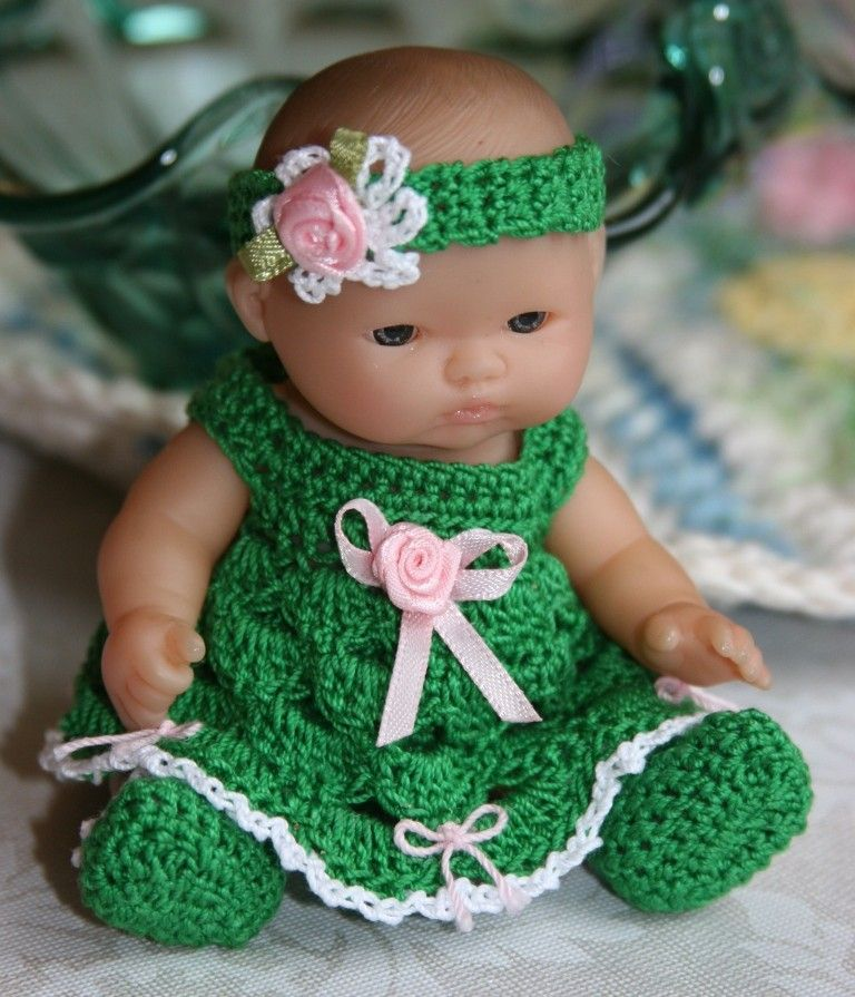Baby Clothes Crocheted Doll Crochet Learn How To Crochet768 X