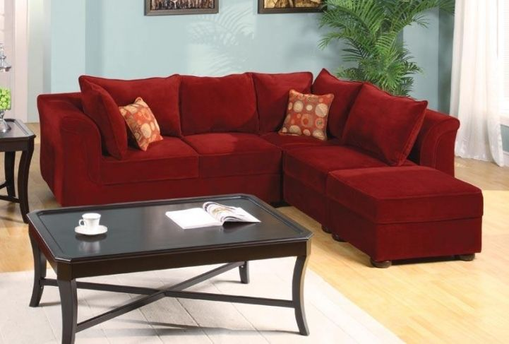 Red Sectional Sofa Bed For Small Spaces With Delightful Modular