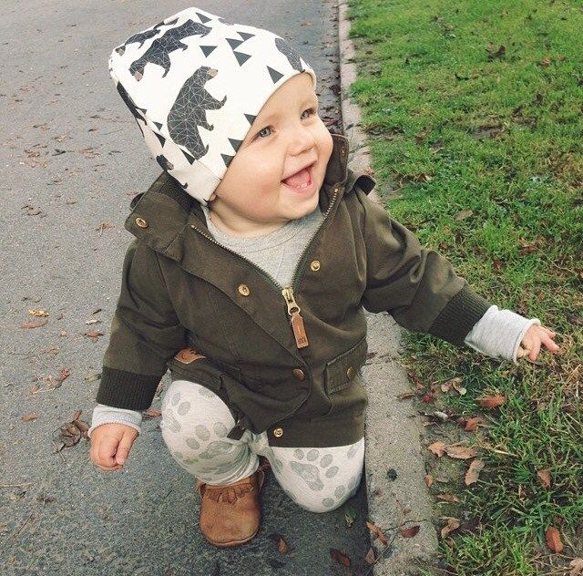 Baby slouchy beanie in very popular prints! Can fit up to a 3 year old  toddler!Super cute prints!Great for the colder months or just as a fashion  statement. d9fa6f5511f