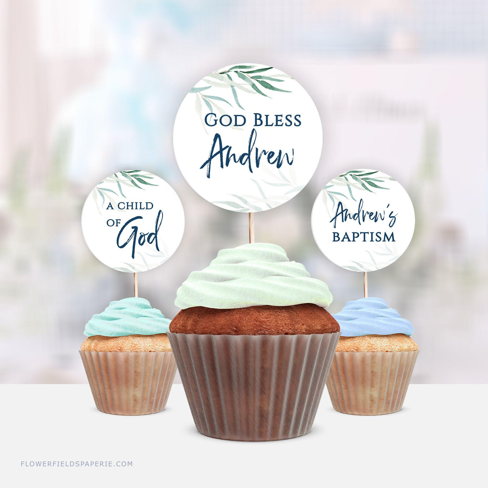 47+ Baptism cake topper printable ideas