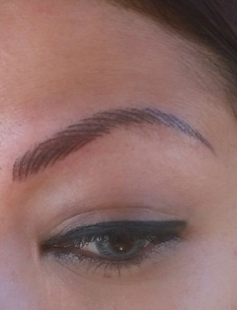 3d eyebrow tattoo el monte ca united states after