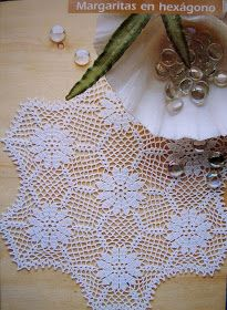 Crochet and arts: napkins new 5