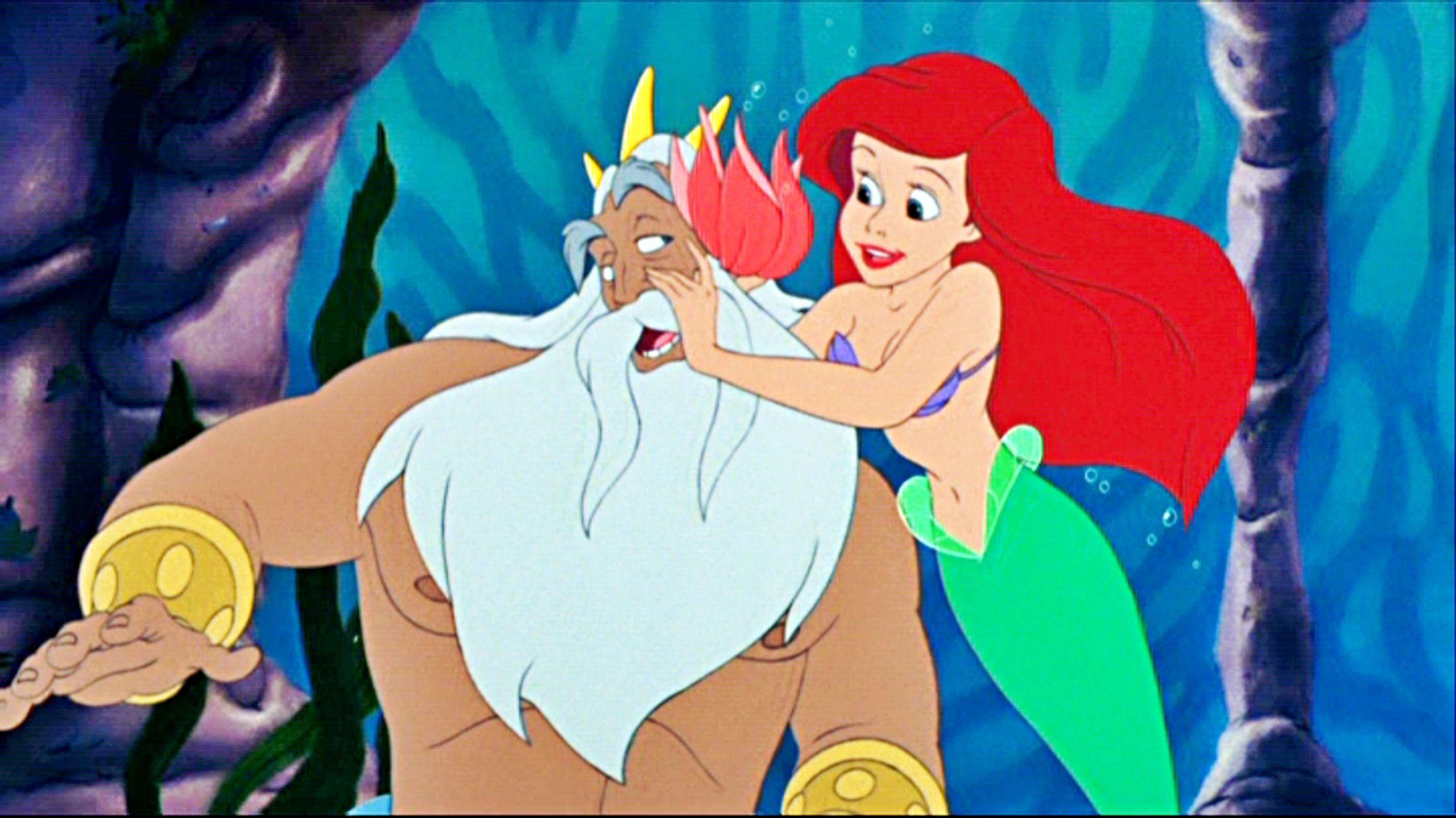 Uncategorized Ariel And King Triton poucelina pinterest ohana