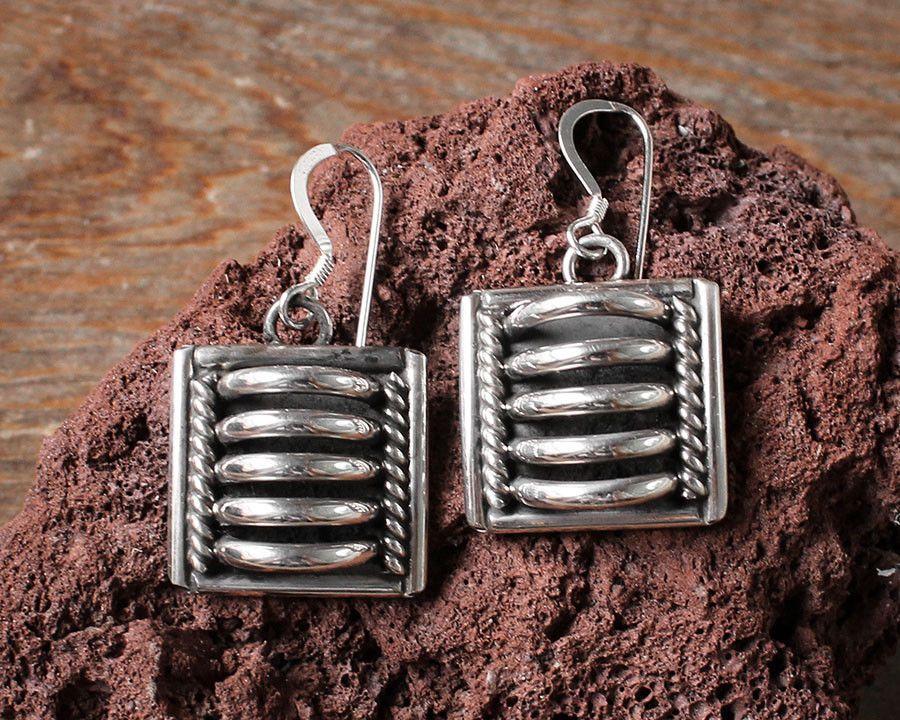 Brightt Black Onyx Dangle Style .925 Sterling Silver Earrings