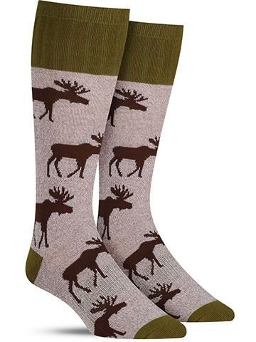 23ee0bb77ffd2 Outlands Moose Socks | Mens | Awesome clothes in 2019 | Crazy socks ...