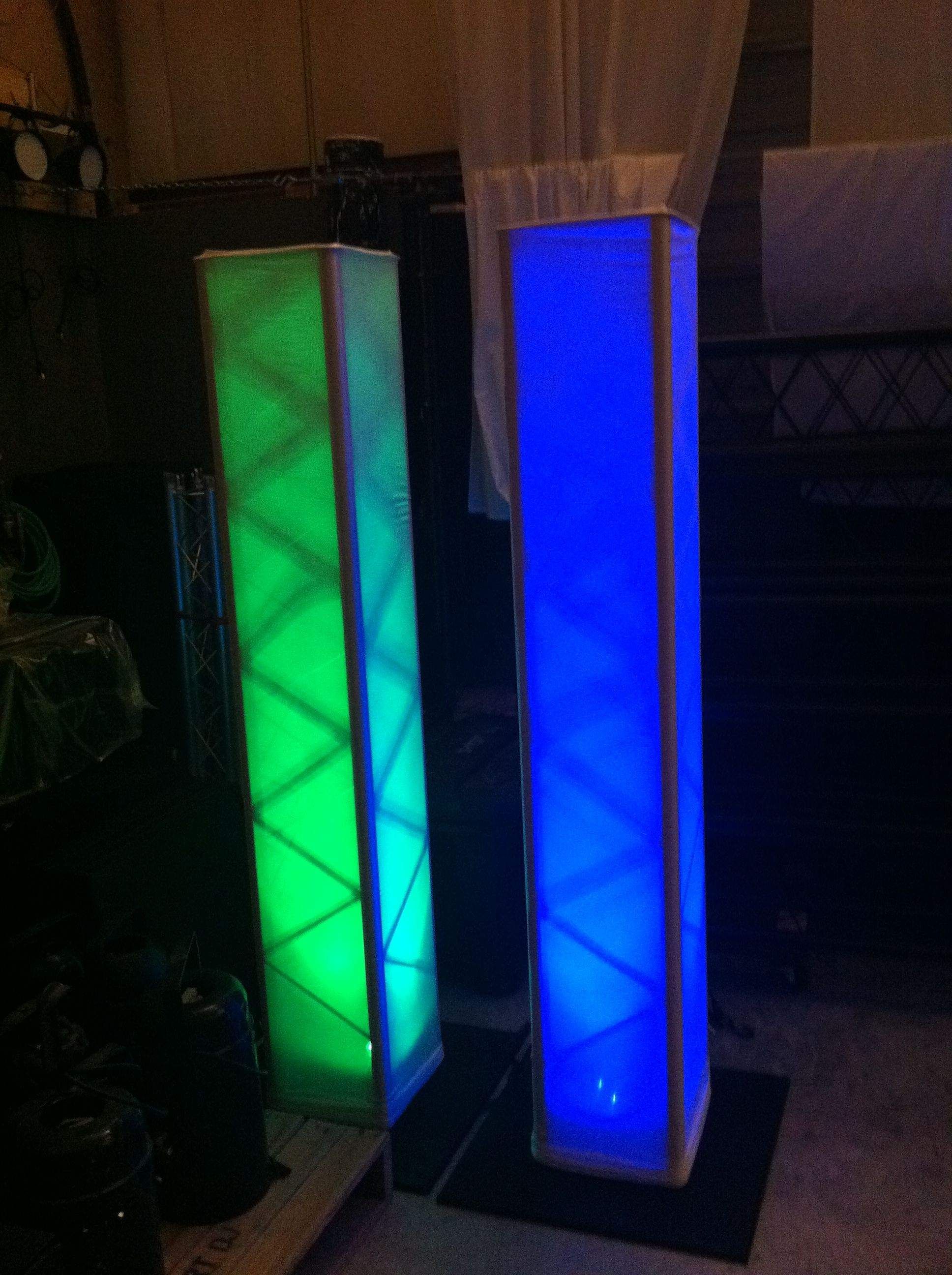diy portable stage small stage lighting truss. LED Truss Column (wireless Lighting) Diy Portable Stage Small Lighting