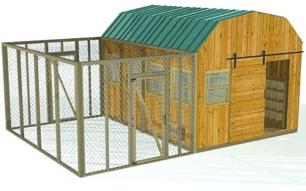 10 Free And Inspiring Chicken House Building Plans For Backyard Chickens.
